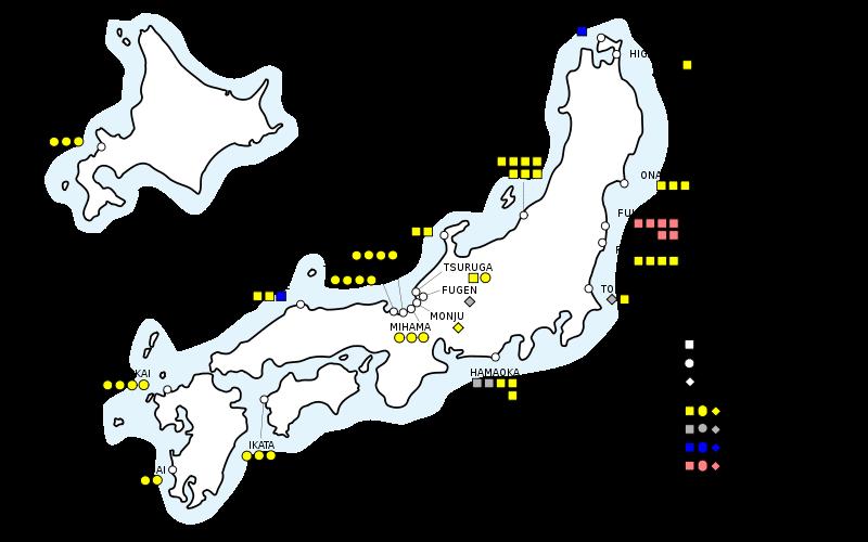 Atomkraftwerke Deutschland Karte.Atomkraftwerke In Japan Atom Aktuell